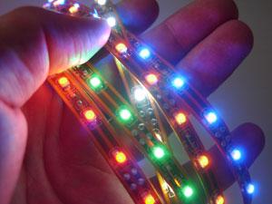 Как самому сделать светодиодные ленты на