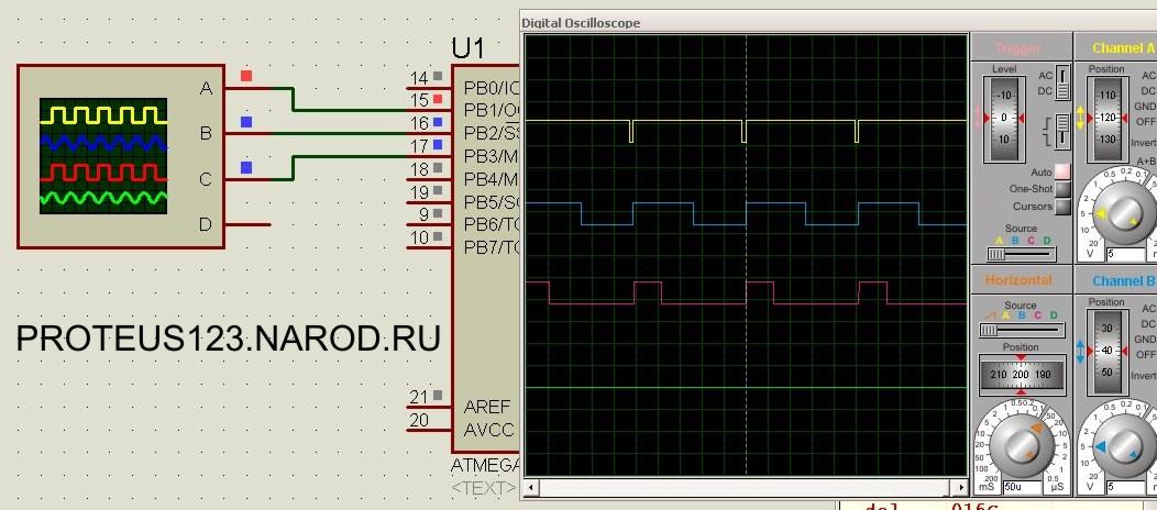Лампа настроения схема прошивка контроллер RGB светодиод ...: http://rgbled.narod.ru/